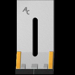 Scraper for Packer Rolls type Kuhn