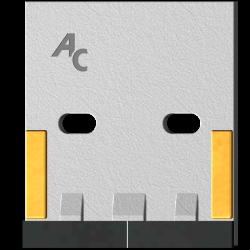 Scraper for Packer Rolls type Lely