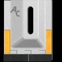 Scraper for Packer Rolls type Amazone