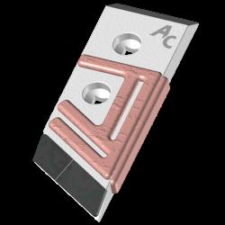 POINTE BOUL. DEMBLON Plate -Larg.80mm- Rechargée D