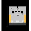 Scraper for Packer Rolls type Lemken