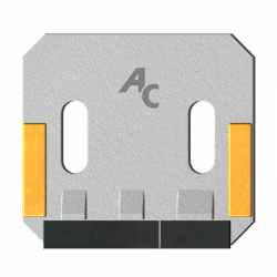 Scraper for Packer Rolls type Sulky