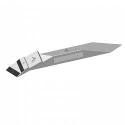 BEC LAME RAZOL Araplow ACB - E.A.85 mm G